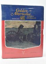 Vintage 1973 Golden Americana 1000 Piece Puzzle Remington Series The Sen... - $49.45