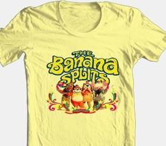 Banana Splits T-shirt Saturday morning 80s cartoons 100% cotton yellow tee image 2