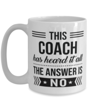 Coffee Mug for Coach - 15 oz Funny Tea Cup For Office Co-Workers Men Women -  - $16.95