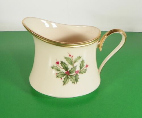 Lenox Dimension HOLIDAY Creamer and Sugar Bowl with Lid Holly Berry image 12