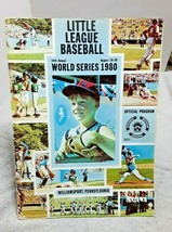 1980 Little League World Series Program with Team Sheet Gary Sheffield D... - $13.99