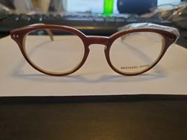 NEW Michael Kors Eyeglass Frame MK811K 210 BROWN 49/19/145 PERFECT AUTHE... - $57.32