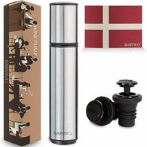 Wine Bottle Stoppers & Vacuum Pump Wine Preserver Kit Keeps Wine Fresh  - $23.40