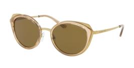 Michael Kors Sunglasses Charleston Mk 1029 116873 Gold-Brown Transparent w/Olive - $159.99