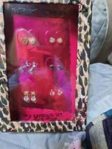 Betsey Johnson Gift Boxed Stud Earrings Set NWT - $25.00