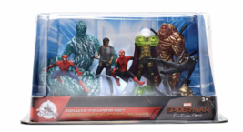 Disney SpiderMan Far From Home Deluxe Figurine Playset Figure Toy Cake T... - $32.33