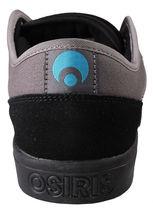 Osiris Negro/Cian Hombre Decaimiento Skate Zapatos image 3