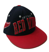 Vintage Detroit Red Wings Mens Hat NHL Hockey Nissin Lthr Strapback Zeph... - $19.80