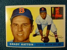 1955 TOPPS GRADY HATTON #131   EX+ TO MINT  - $5.94