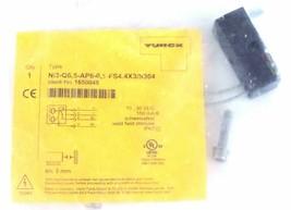 NIB TURCK NI2-Q6,5-AP6-0,1-FS4.4X3/S304 PROXIMITY SWITCH IDENT NO. 1650048