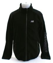 New Balance Black Zip Front Fleece Jacket Men's NWT $94 - $56.24