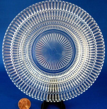 Depression Glass Wine Coaster Butter Dish Base 1950s Queen Mary Party Server - $12.00
