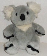 "BUILD A BEAR RETIRED GREY WHITE KUDDLY KOALA 12"" STUFFED ANIMAL PLUSH DO... - $9.99"