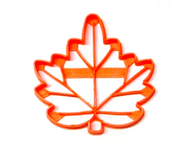 Maple Leaf With Detail Leaves Fall Autumn Canadian Symbol Cookie Cutter ... - $2.99