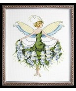 """NC129 Lily of the Valley  """" X STITCH CHARTS WITH EMBELLISHMENT PACK - $24.99"""