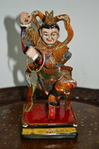Antique Wooden Hand Carved Statue  - $271.64