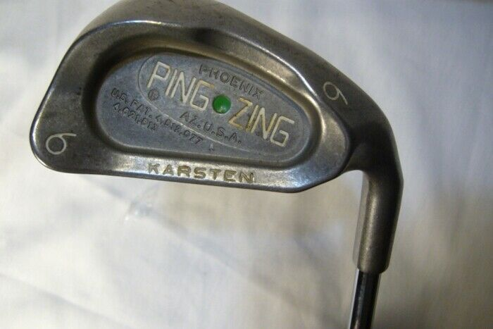 Ping Zing 6 Iron Green Dot RH Steel Shaft
