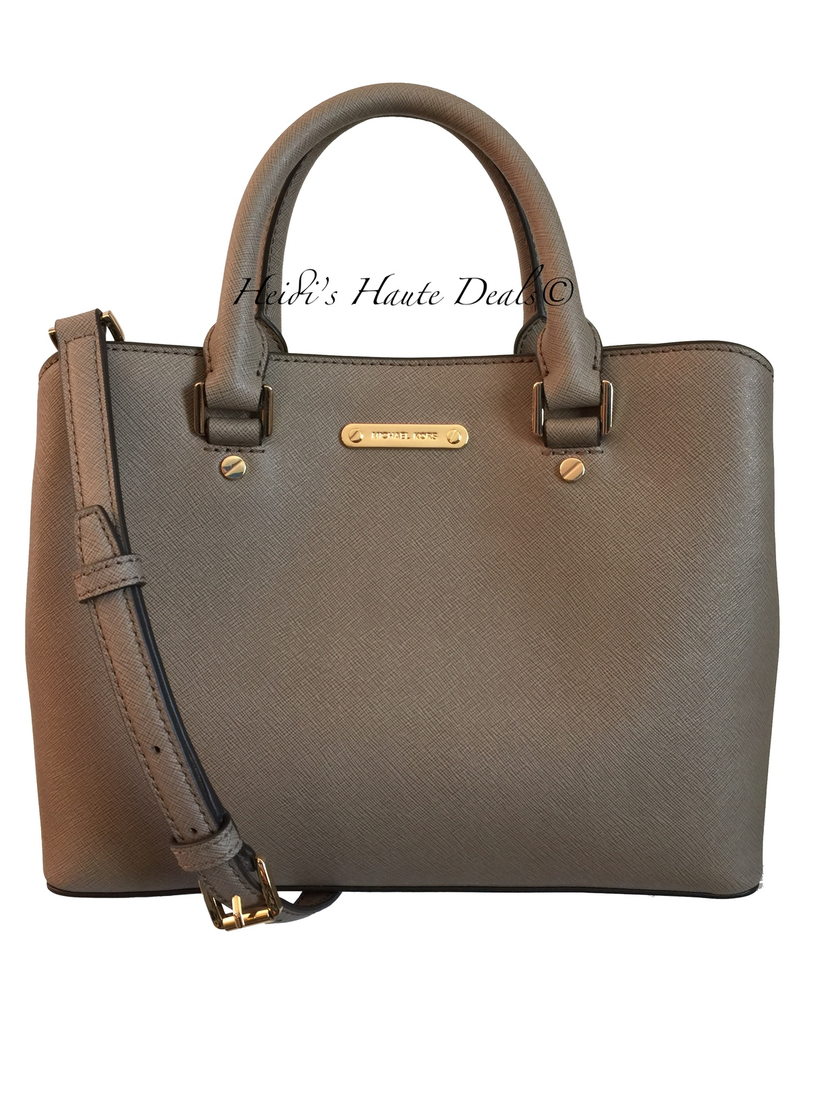 f82d15455f70 Img 3591. Img 3591. Previous. NWT MICHAEL KORS Savannah Medium Satchel Dark  Dune Saffiano Leather Bag Purse