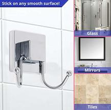 HOME SO Double Hooks with Suction Cup Holder, Prisma Collection - Removable Show image 2