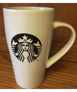 Starbucks Mermaid Mug Black Print Tall Mug 18 oz  2014 - $15.99