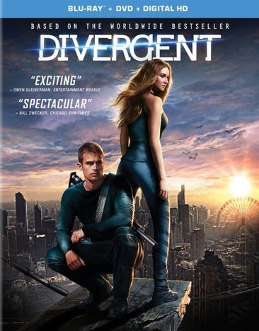 Divergent (Blu-Ray + DVD + Digital)