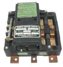 AUTOMATIC SWITCH CO. 920-926 REMOTE CONTROL SWITCH 60AMPS. CATALOG NO. 926