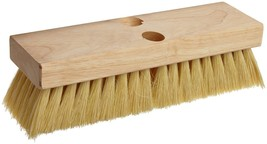 Magnolia Brush #212 White Tampico Deck Scrub Brush - Carton of 6 - $1.836,34 MXN