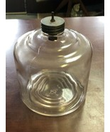 Vintage 1939 Owens Illinois Glass Kerosene Oil Drip Tank Jar Columbus Ohio - $26.60
