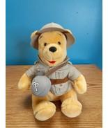 "Disney World 10"" Plush Safari Winnie the Pooh Bean Bear  - $12.82"