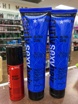 Sexy Hair Support Styling Creme-Gel 5oz(2pc) & Spray Mousse 1 oz-3SET - $38.50