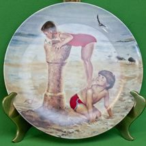 1987 Donald Zolan 1st Issue Childhood Friendship Collection Collector Plate - $3.95