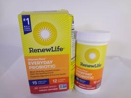 Renew Life Ultimate Flora Everyday Probiotic 60 Vegetarian Capsules 23-R - $21.78