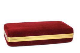 "Designer Lady Velvet Red Jewel Case Organizer Travel 8"" - $26.72"