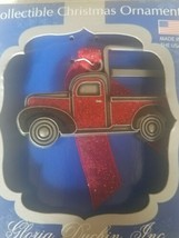 Collectible Christmas Ornament red truck upc 089102314550 - $39.48