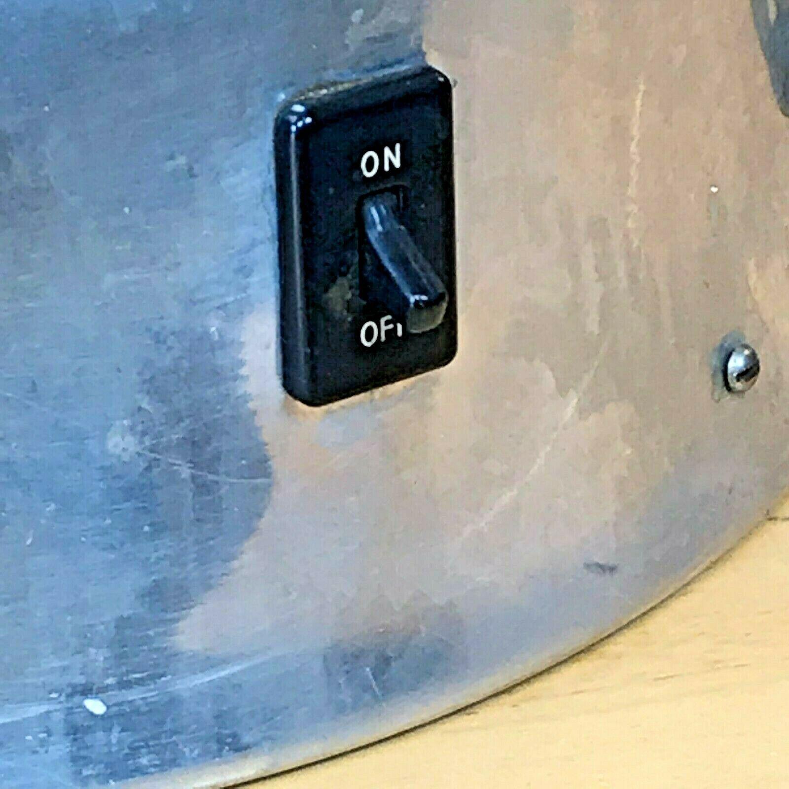 Vintage Enterprise Coffee Percolator 58 cup Urn Model AP48N WORKS Glass Knob LB image 5