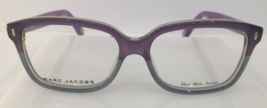 MARC JACOBS MJ 427 PURPLE FADE M12 PLASTIC EYEGLASSES 54-15-140 ITALY AU... - $166.67