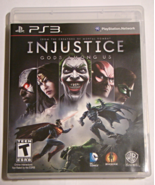 Playstation 3 - INJUSTICE GODS AMONG US (Complete with Manual) - $15.00