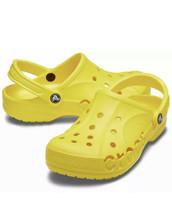 Crocs Baya Unisex Clog Sandals/Slide Yellow -10126-7C1 - Size M5/W7 BRAN... - $44.45