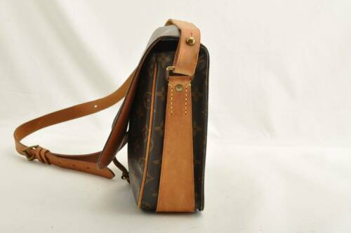 LOUIS VUITTON Monogram Cartouchiere GM Shoulder Bag M51252 LV Auth ar1643 image 5