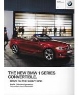 2012 BMW 1-SERIES Convertible brochure catalog 12 US 128i 135i - $8.00