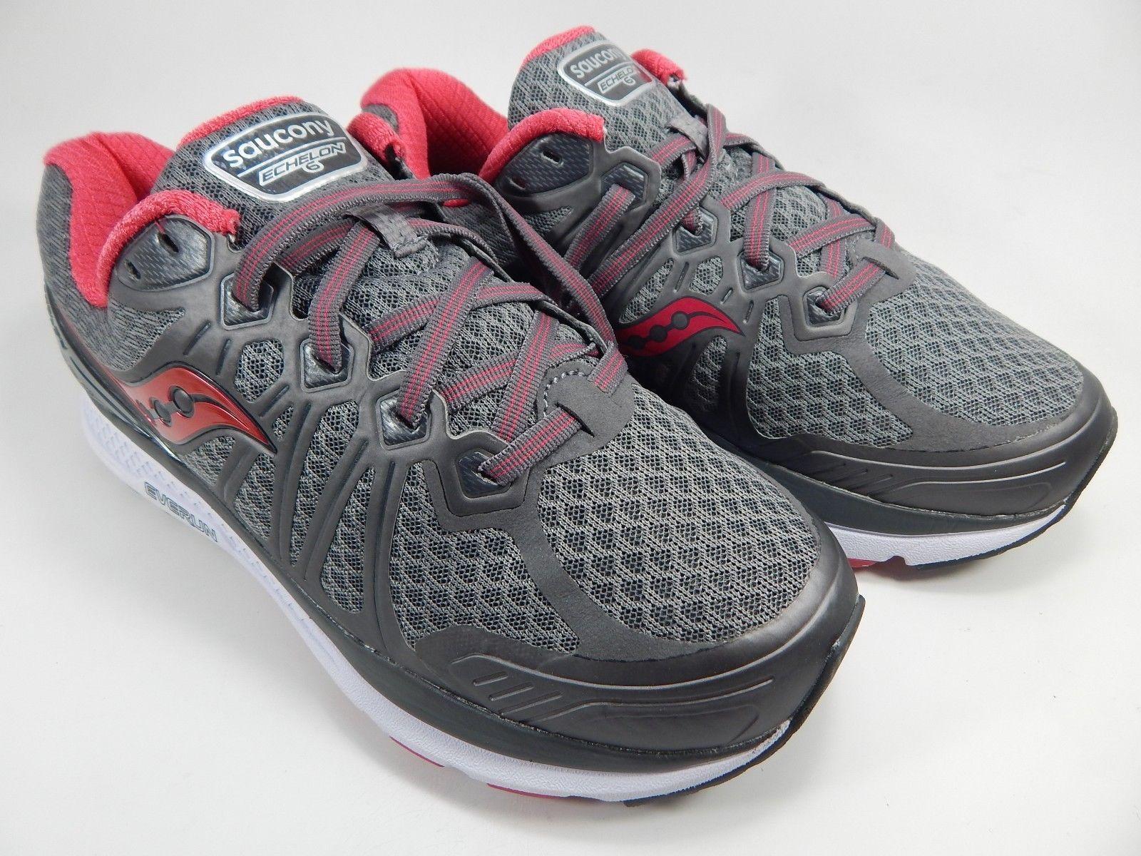 Saucony Echelon 6 Running Shoes Women's Size US 9 D (W) WIDE EU 40.5 S10385-1