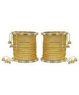MUCH-MORE Marvellous Set of Multi Color Bangles Traditional Partywear Je... - $20.03
