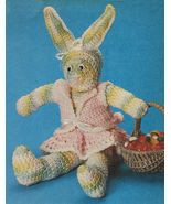 Crochet Poseable Easter Honey Bunny Tissue Cover Humpty Dumpty Elephant ... - $8.99
