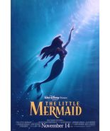 THE LITTLE MERMAID (1987) ORIGINAL ADVANCE R-1997 MOVIE POSTER ROLLED 2-... - $80.00