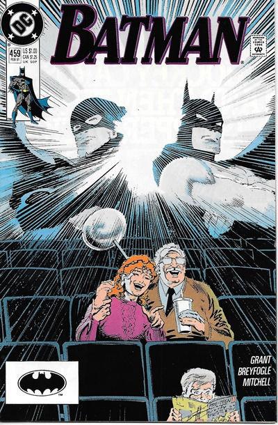 Batman Comic Book #459, DC Comics 1991 NEAR MINT NEW UNREAD