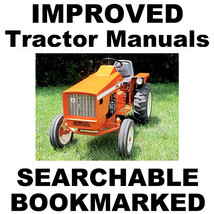 Allis Chalmers 616 620 720 Garden Tractor FACTORY SERVICE IMPROVED MANUA... - $13.89