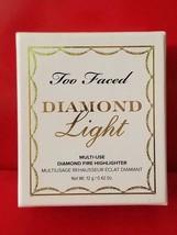 Too Faced DIAMOND LIGHT Multi Use Diamond Fire Highlighter - Authentic - $34.60