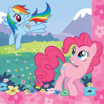 My Little Pony Birthday Friendship Party 16 Ct Luncheon Napkins - $3.99