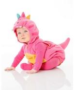 Carters Pink Dragon Halloween Costume Size 6/9 Months Girls 3 Piece Set - £25.58 GBP
