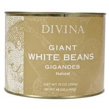 Giant White Beans - 6 tins - 3.1 lbs ea - $127.76